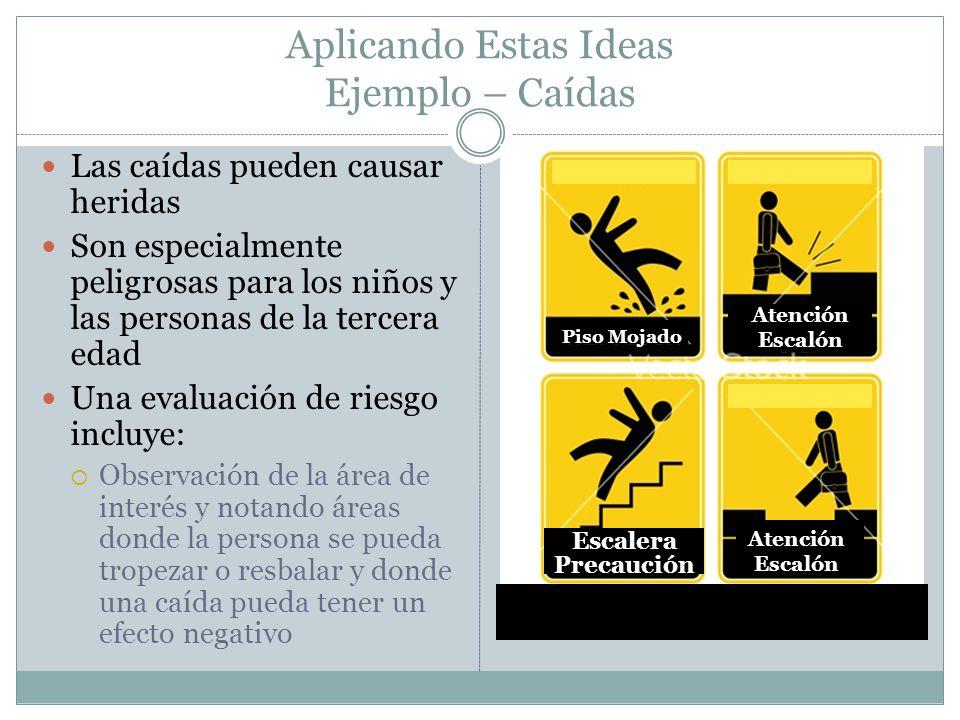 Aplicando Estas Ideas Ejemplo – Caídas
