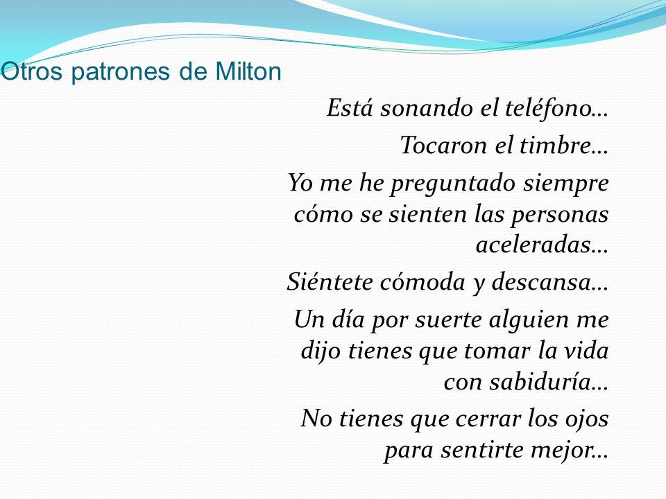 Otros patrones de Milton