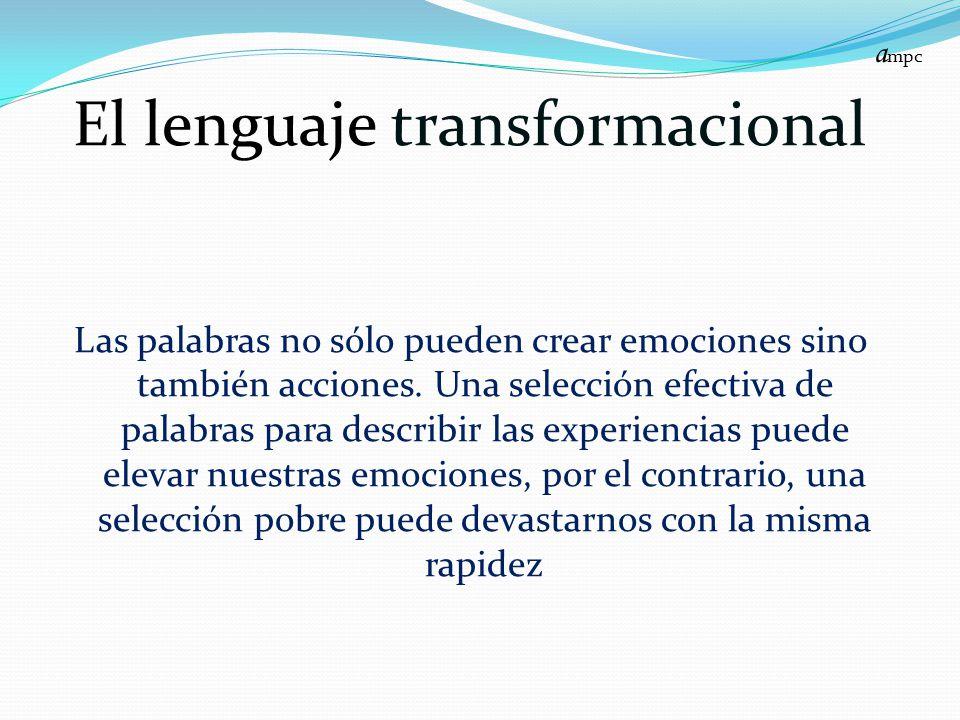 El lenguaje transformacional
