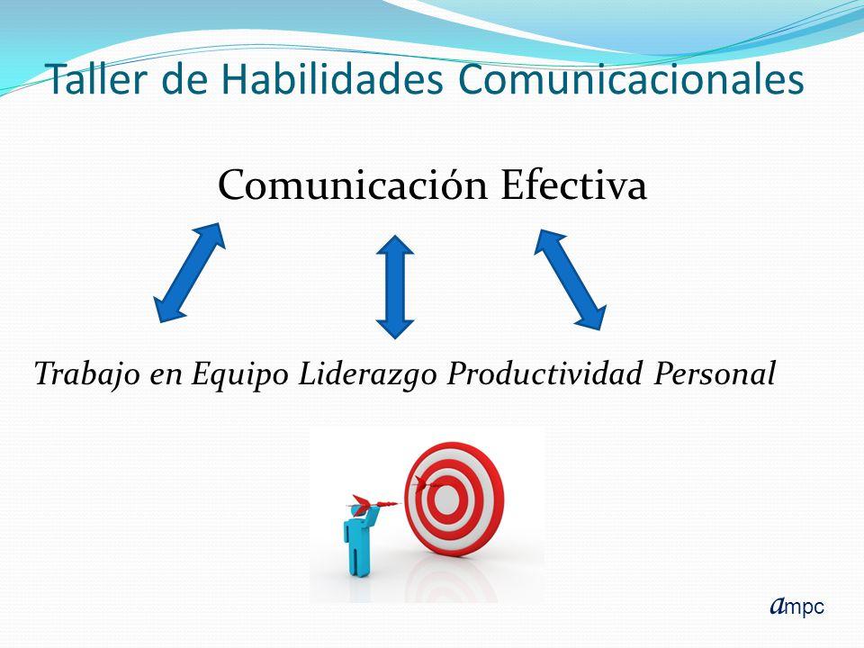 Taller de Habilidades Comunicacionales