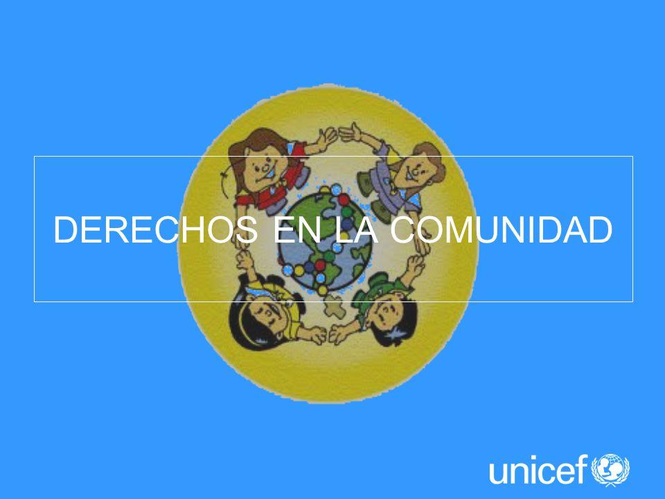 DERECHOS EN LA COMUNIDAD