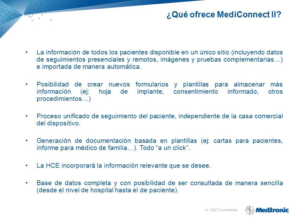 ¿Qué ofrece MediConnect II