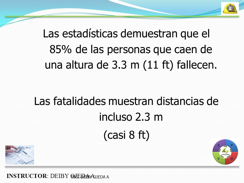 Las fatalidades muestran distancias de incluso 2.3 m