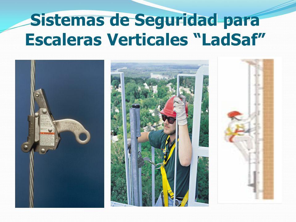 Sistemas de Seguridad para Escaleras Verticales LadSaf
