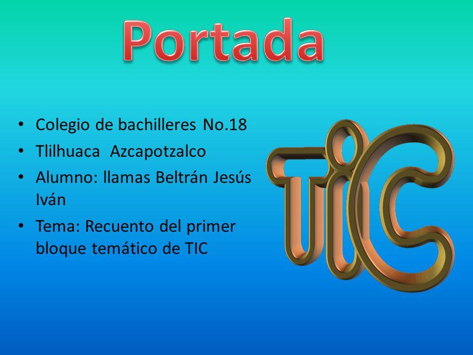Portada Colegio de bachilleres No.18 Tlilhuaca Azcapotzalco