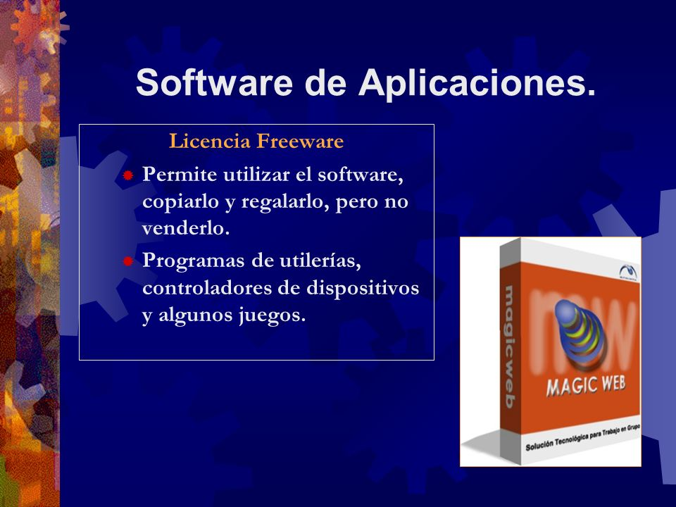 Software de Aplicaciones.