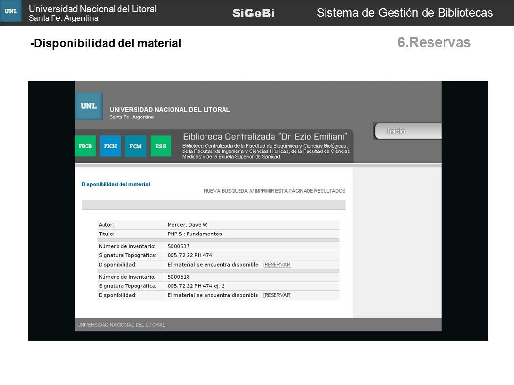 6.Reservas SiGeBi Sistema de Gestión de Bibliotecas