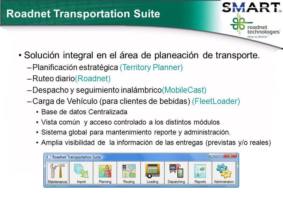 Roadnet Transportation Suite