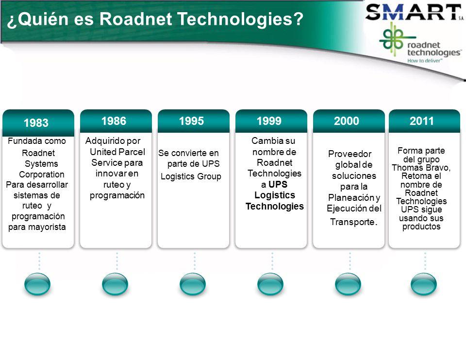¿Quién es Roadnet Technologies