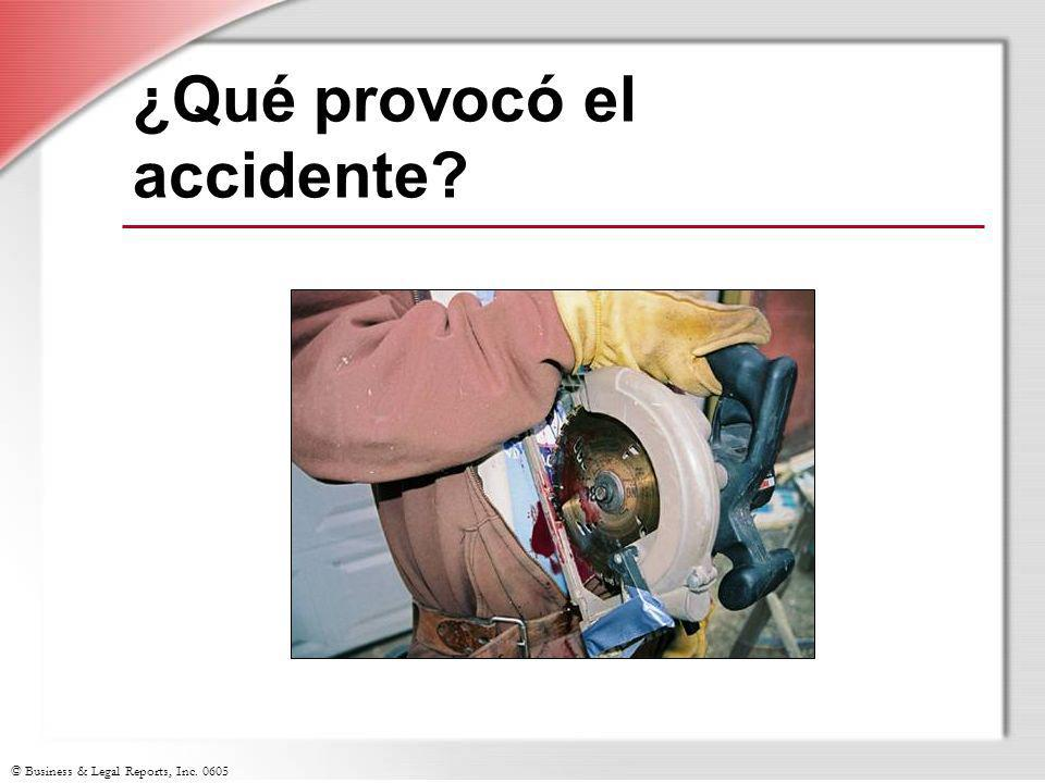 ¿Qué provocó el accidente