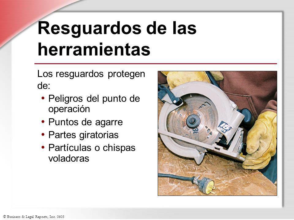 Resguardos de las herramientas