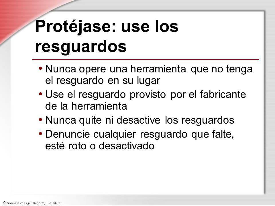 Protéjase: use los resguardos