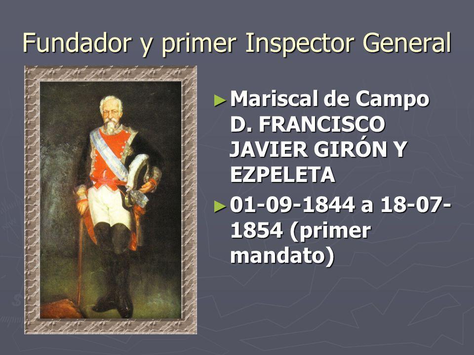 Fundador y primer Inspector General