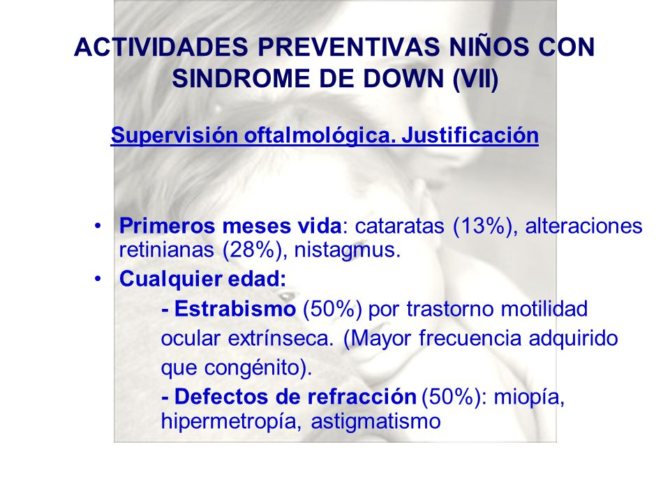 ACTIVIDADES PREVENTIVAS NIÑOS CON SINDROME DE DOWN (VII)