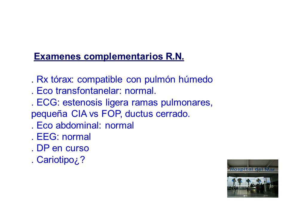 Examenes complementarios R.N.