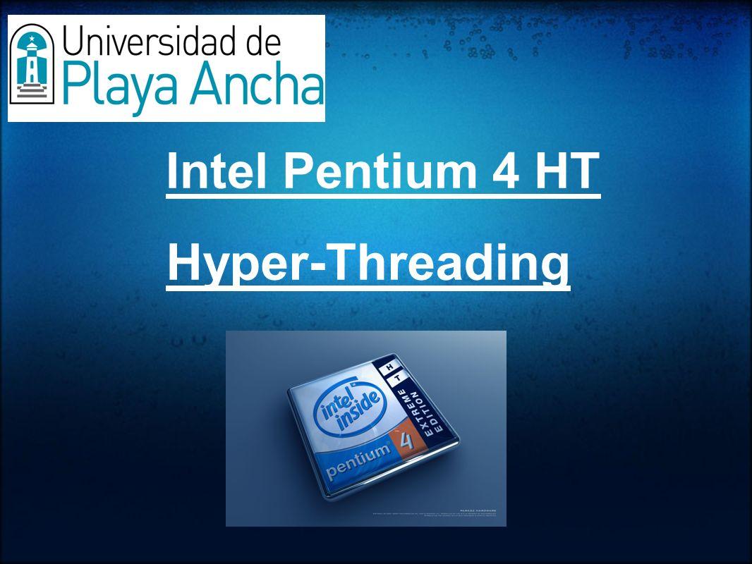 Intel Pentium 4 HT Hyper-Threading