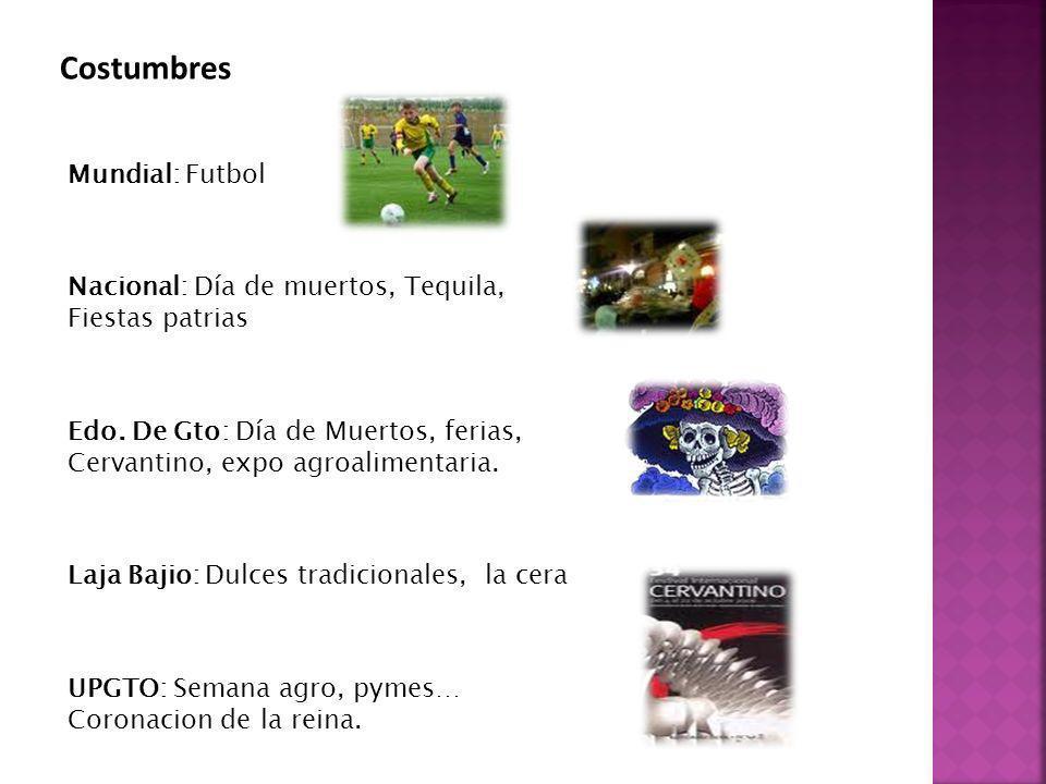Costumbres Mundial: Futbol