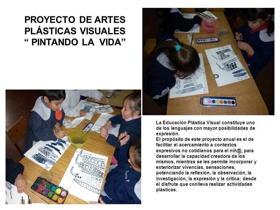PROYECTO DE ARTES PLÁSTICAS VISUALES