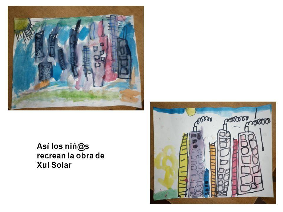 Así los niñ@s recrean la obra de Xul Solar