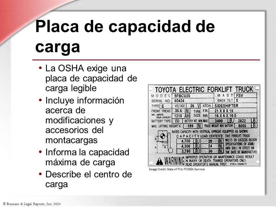 Placa de capacidad de carga