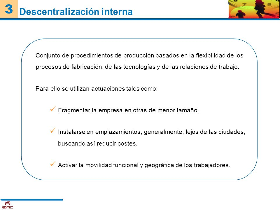 Descentralización interna
