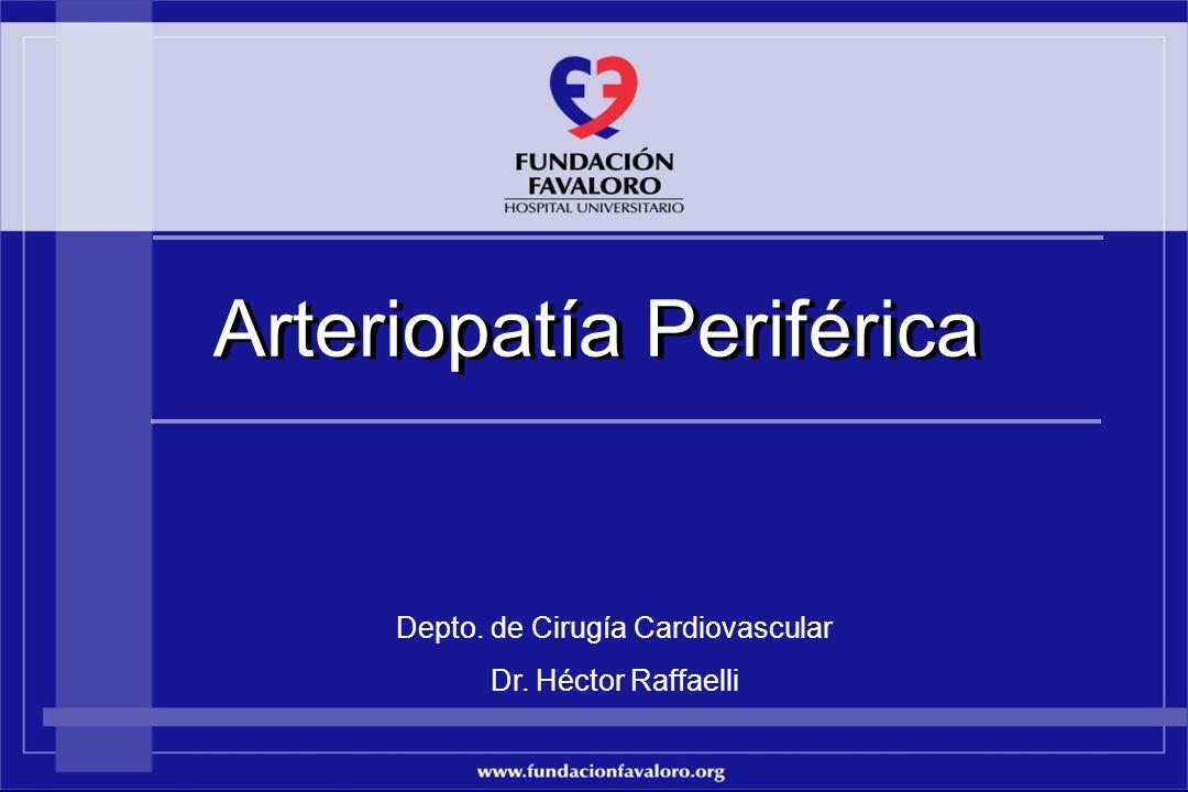Depto. de Cirugía Cardiovascular