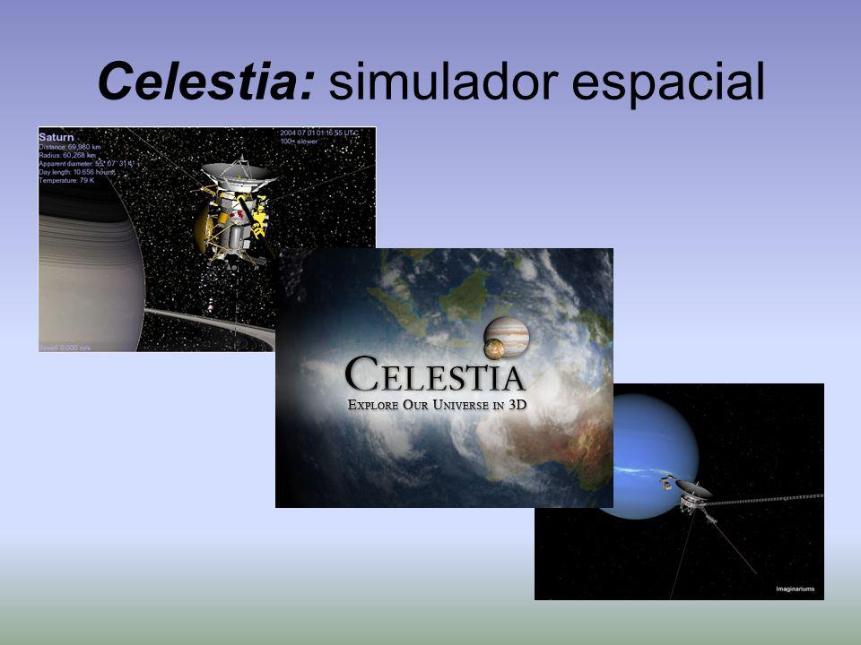 Celestia: simulador espacial