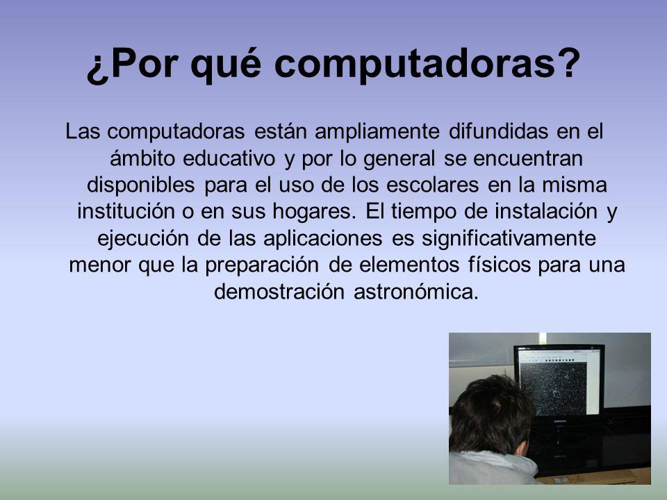 ¿Por qué computadoras