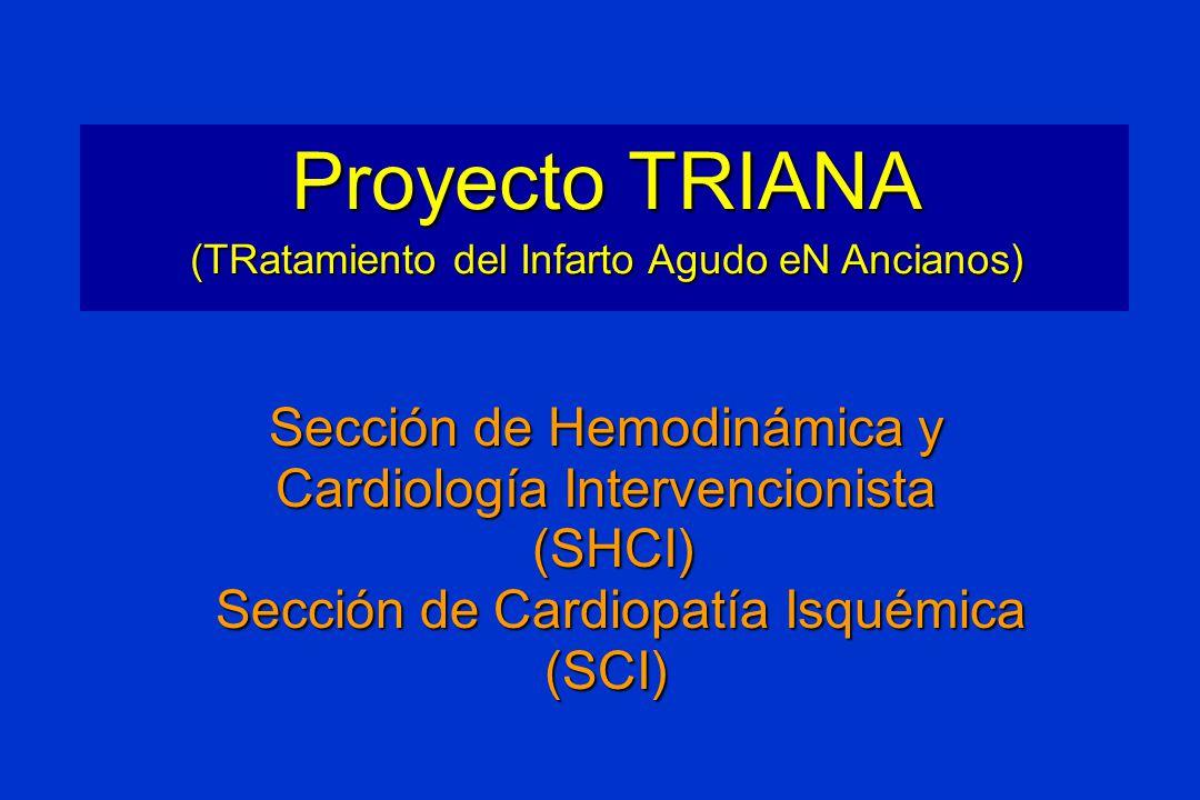 Proyecto TRIANA Sección de Hemodinámica y Cardiología Intervencionista