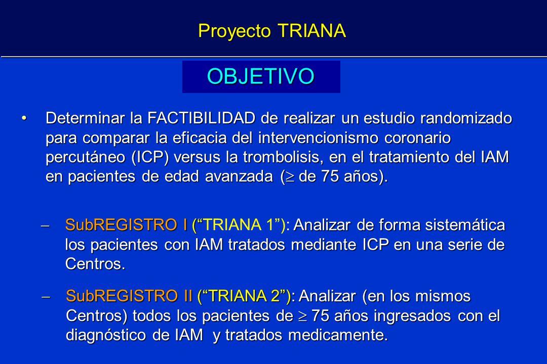 OBJETIVO Proyecto TRIANA
