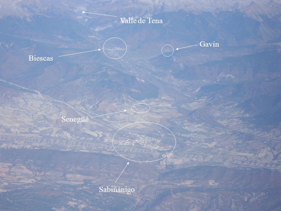 Valle de Tena Gavín Biescas Senegüé Sabiñánigo