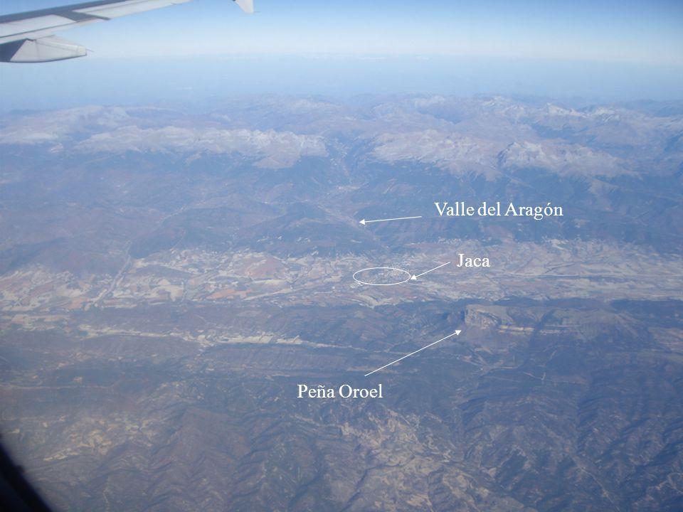 Valle del Aragón Jaca Peña Oroel