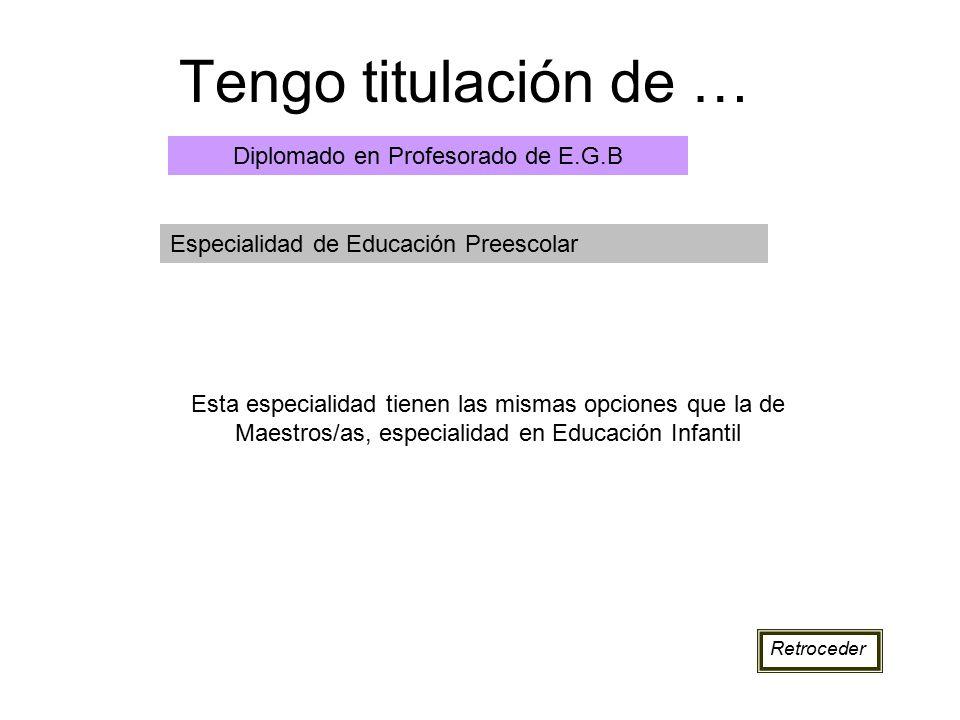 Diplomado en Profesorado de E.G.B