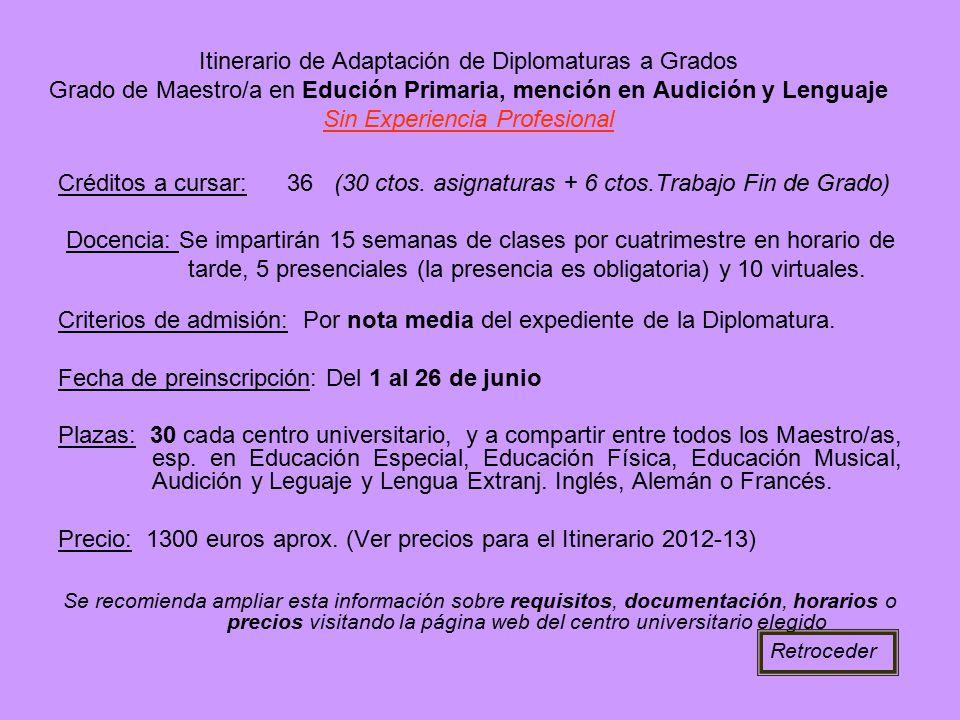 Fecha de preinscripción: Del 1 al 26 de junio