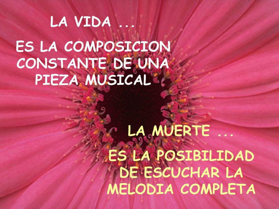 ES LA COMPOSICION CONSTANTE DE UNA PIEZA MUSICAL