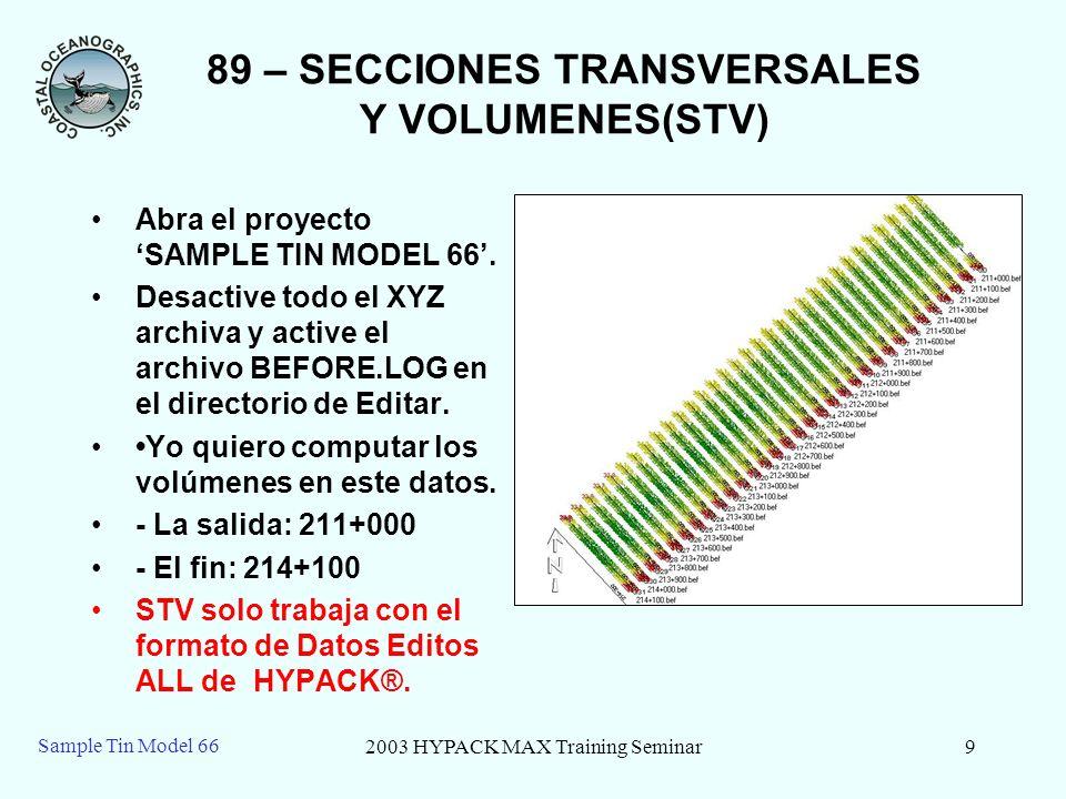 89 – SECCIONES TRANSVERSALES Y VOLUMENES(STV)