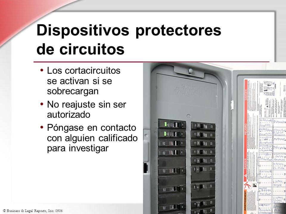 Dispositivos protectores de circuitos