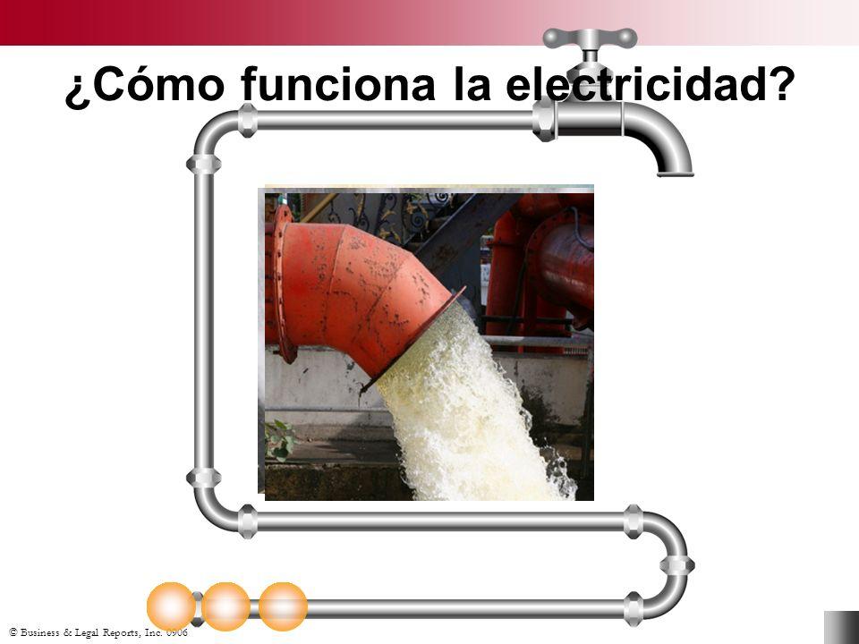 ¿Cómo funciona la electricidad