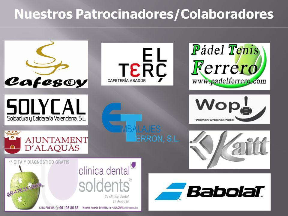 Nuestros Patrocinadores/Colaboradores
