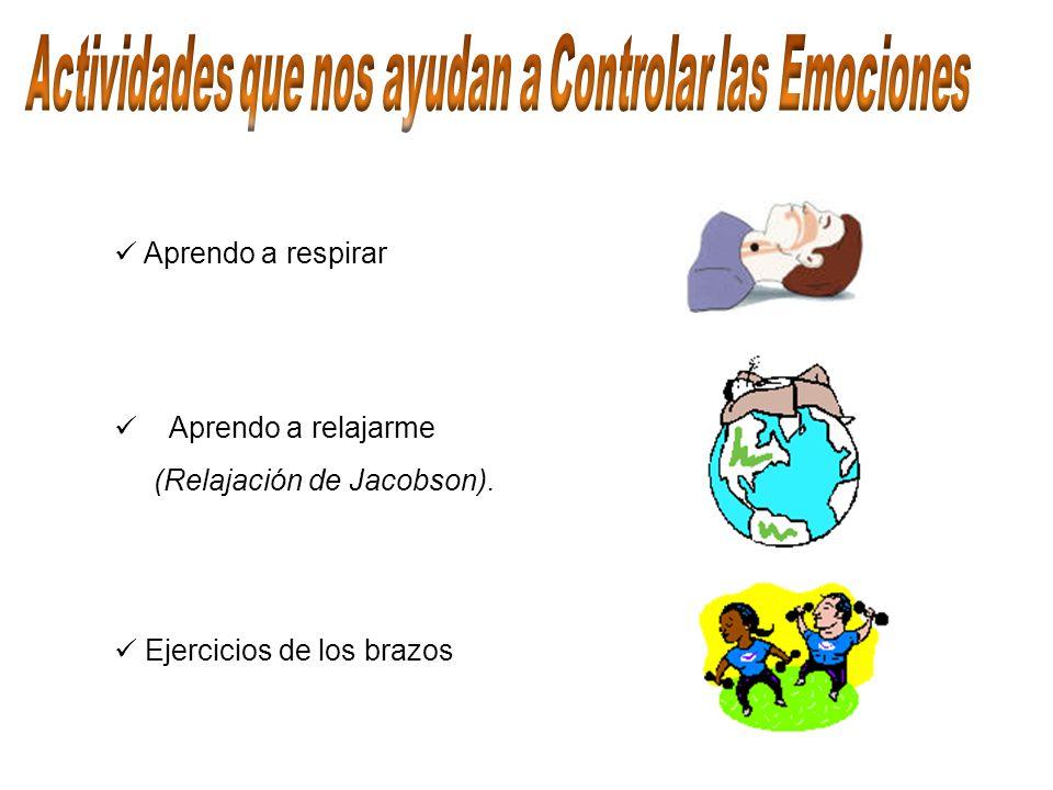 Actividades que nos ayudan a Controlar las Emociones