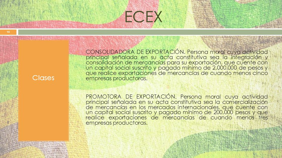 ECEX Clases.