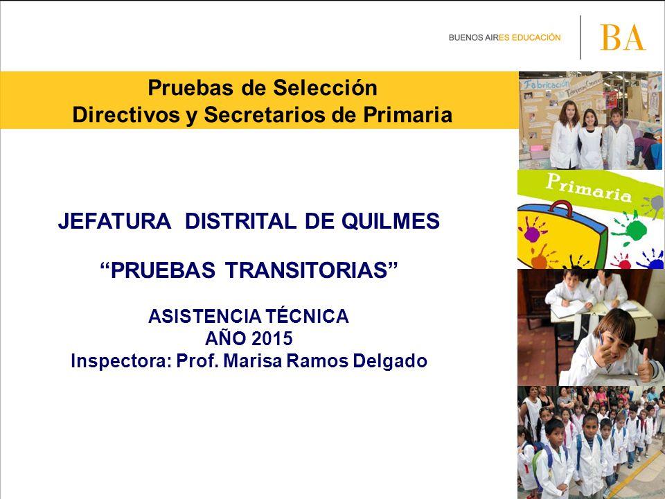 Directivos y Secretarios de Primaria