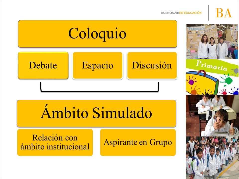 Relación con ámbito institucional