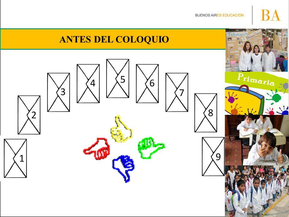 ANTES DEL COLOQUIO
