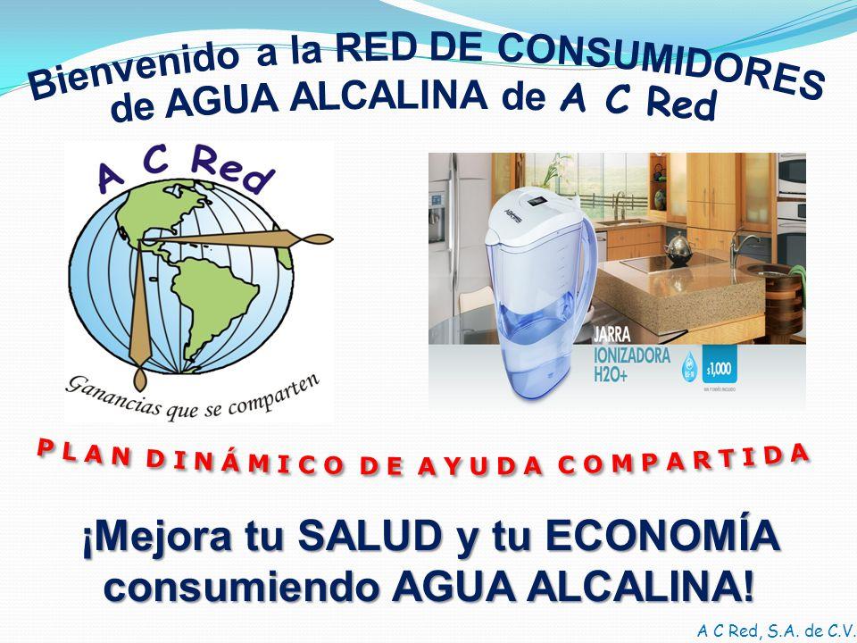 ¡Mejora tu SALUD y tu ECONOMÍA consumiendo AGUA ALCALINA!