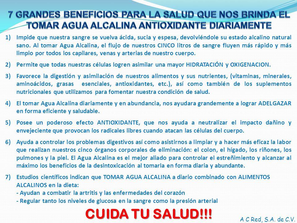 CUIDA TU SALUD!!! 7 GRANDES BENEFICIOS PARA LA SALUD QUE NOS BRINDA EL