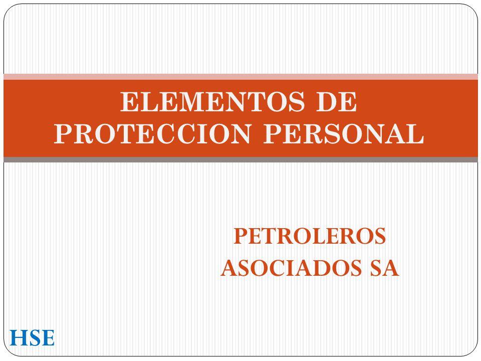 ELEMENTOS DE PROTECCION PERSONAL PETROLEROS ASOCIADOS SA