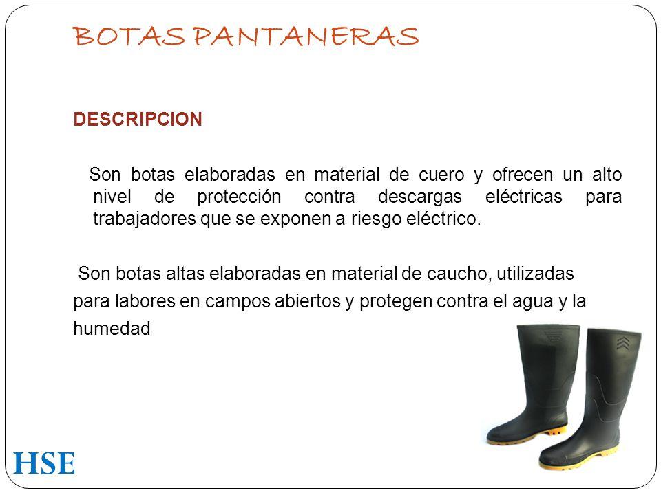 BOTAS PANTANERAS