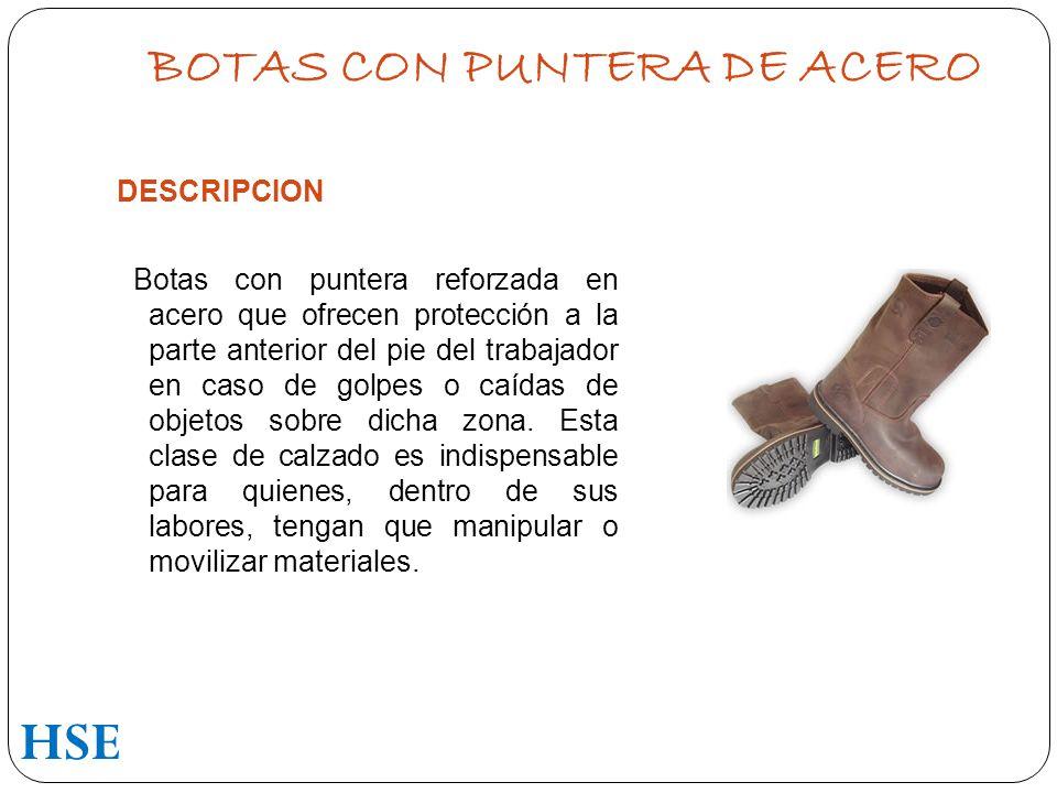 BOTAS CON PUNTERA DE ACERO