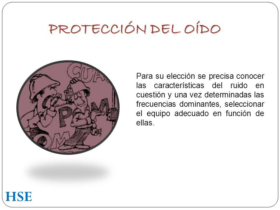 PROTECCIÓN DEL OÍDO HSE